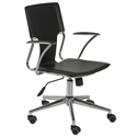 Terry Modern Black Office Chair