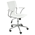 Terry Modern White Office Chair