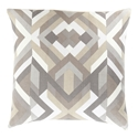 "Thelonius 22"" Khaki Modern Pillow"