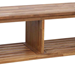 Tiamat Contemporary Amber TV Bench