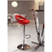 Tickle Modern Adjustable Stool in Red