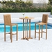 Tierra Modern Teak Outdoor Bar Table