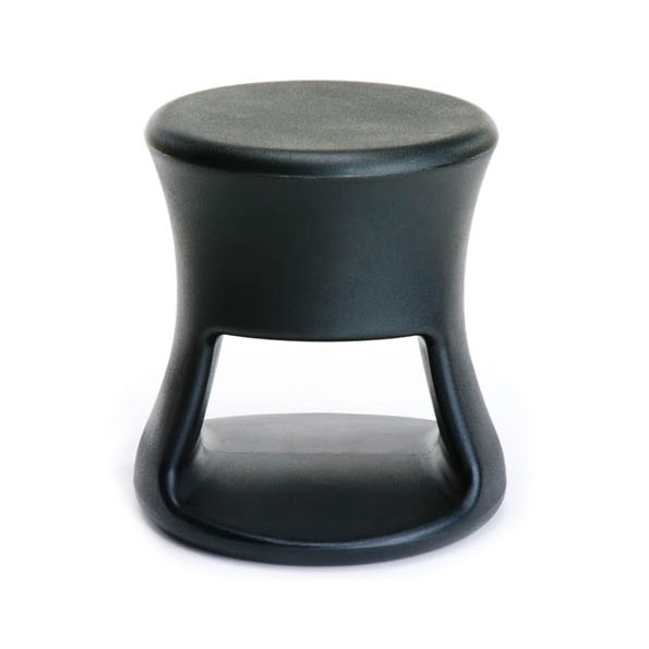 Tiki Black Outdoor Stool + Accent Table by Offi & Company