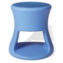 Tiki Blue Outdoor Stool + Accent Table by Offi & Company