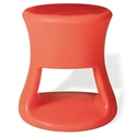 Tiki Orange Outdoor Stool + Accent Table by Offi & Company