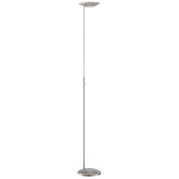 Modern floor lamps tikva led floor lamp eurway for Led torchiere floor lamp with dimmer