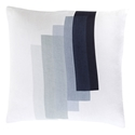 "Timon 22"" Blue Modern Pillow"