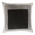 "Tino 18"" Gray Modern Pillow"