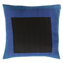 "Tino 20"" Blue Modern Pillow"