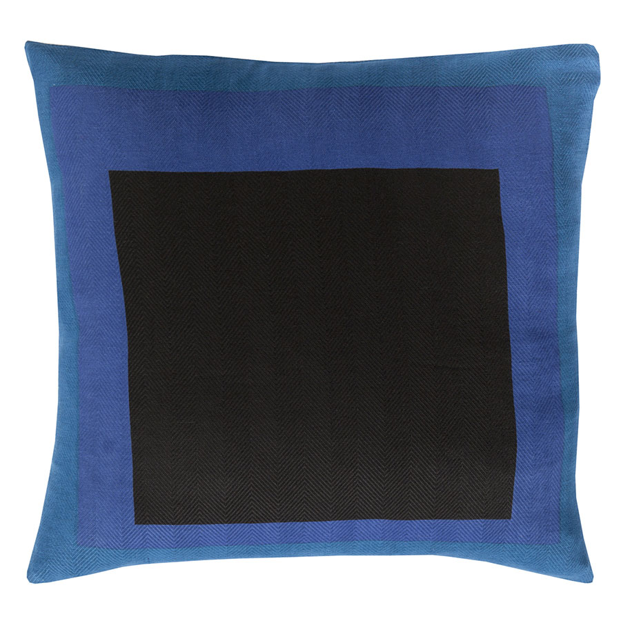 "Tino 22"" Blue Modern Pillow"