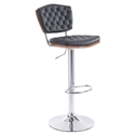 Tino Black Modern Adjustable Stool