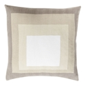 "Tiras 20"" Khaki Modern Pillow"