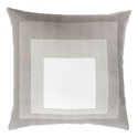 "Tiras 20"" Taupe Modern Pillow"