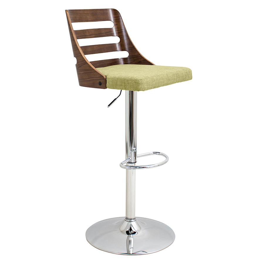 Titus Green Modern Adjustable Stool