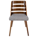 Titus Gray Contemporary Side Chair
