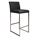 Tobias Modern Black Bar Stool