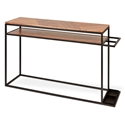 Gus* Modern Tobias Walnut Console Table