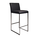Tobias Modern Black Counter Stool