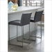 Tobias Contemporary Gray Counter Stools