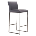 Tobias Modern Gray Counter Stool
