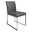 Tobias Modern Gray Dining Chair