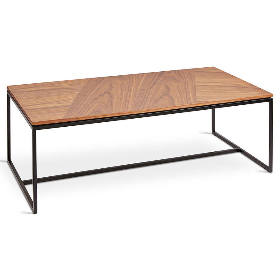 Call To Order Gus Modern Tobias Rectangle Walnut Coffee Table