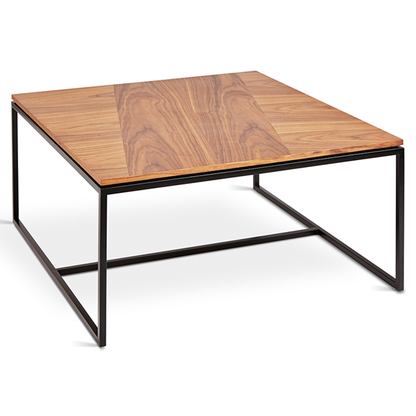 Gus* Modern Tobias Walnut Square Coffee Table