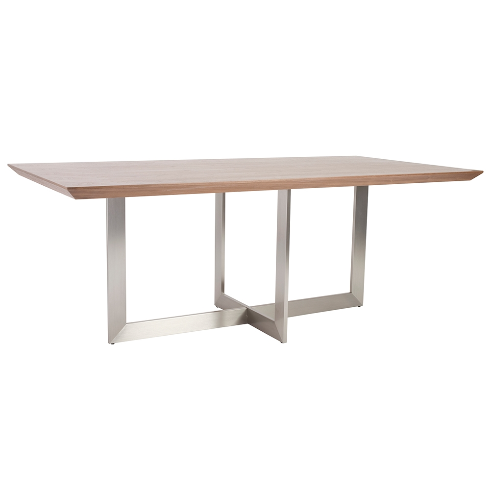 Call To Order Tosca Modern 79x39 Walnut Dining Table