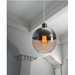 Tomiko Glass + Metal Contemporary Hanging Lamp