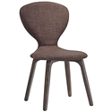 Tomorrow Contemporary Brown Dining Chair
