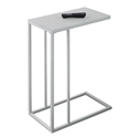 Tony Modern White Accent Table