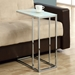Tony Contemporary Chrome Accent Table