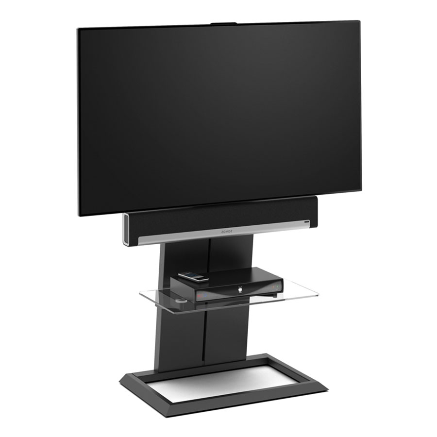 Modern a v stands bdi totem modern tv stand eurway for Totem stand
