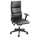 Trace Black Modern High-Back Office Chair