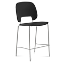 Trajan Tan + Black Modern Bar Stool