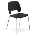 Trajan Tan + Black Modern Dining Chair