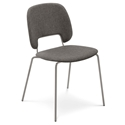 Trajan Tan + Brown Modern Dining Chair