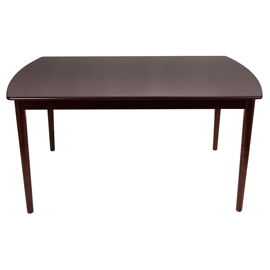 Modern dining tables trent espresso table eurway for Espresso dining table