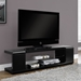 Trevor Contemporary Black TV Stand
