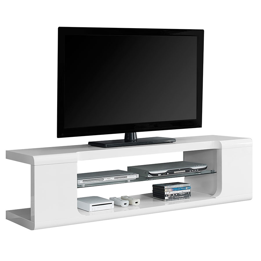 Modern tv stands trevor white tv stand eurway White tv console
