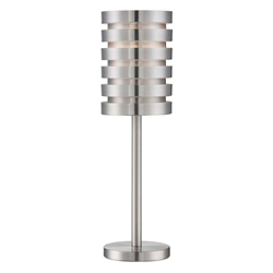 Trex Modern Aluminum Table Lamp