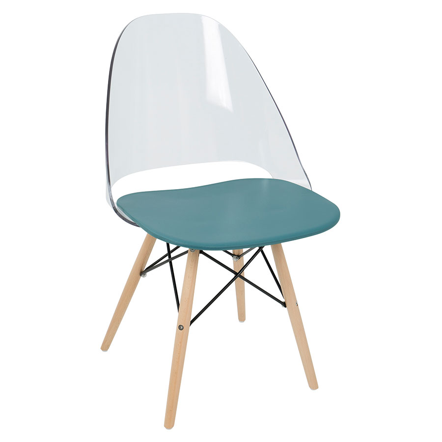 modern dining chairs | trier teal side chair | eurway
