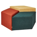 Gus* Modern Trillium Dark Multi-Color Set Of Stools