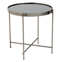 Trilogy Black Modern Side Table