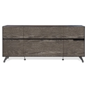 Trondheim 400 Collection Modern Credenza in Grey