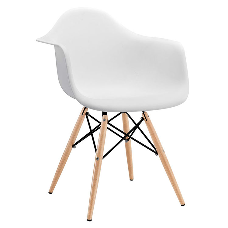 Call To Order · Modern Dining Chairs   Truss White Arm Chair