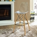 Truss Clear Contemporary Bar Stool