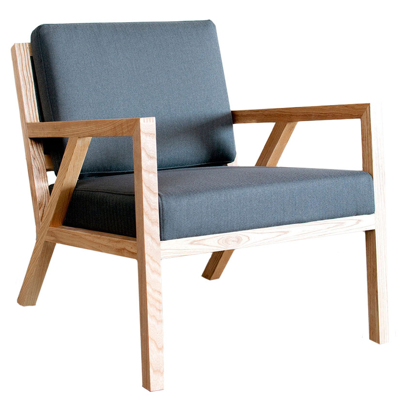 Call To Order · Truss Contemporary Lounge Chair In Menswear Griffin