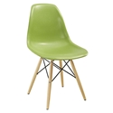 Modern Dining Chairs - Truss Light Green Side Chair