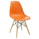 Modern Dining Chairs - Truss Orange Side Chair